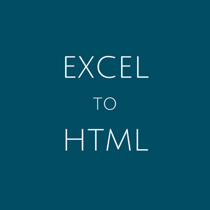 Best Excel to HTML Converter