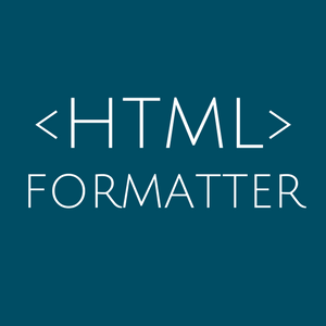 Best HTML Formatter and HTML Beautifier online