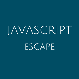 Best Javascript Escape quotes, characters and HTML tool